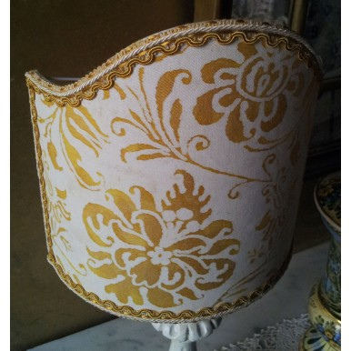 Clip-On Shield Shade Fortuny Cimarosa in Yellow and White