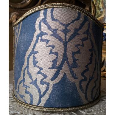 Ventolina per Applique in Tessuto Fortuny Nicolo Blu e Oro