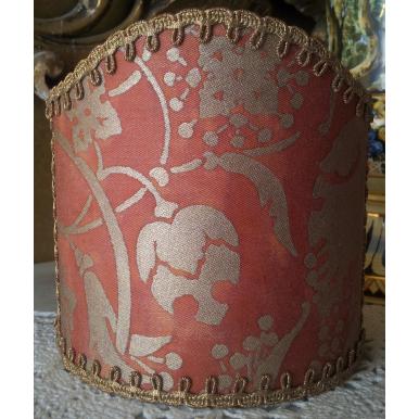 Ventolina per Applique in Tessuto Fortuny Persepolis Arancio e Oro