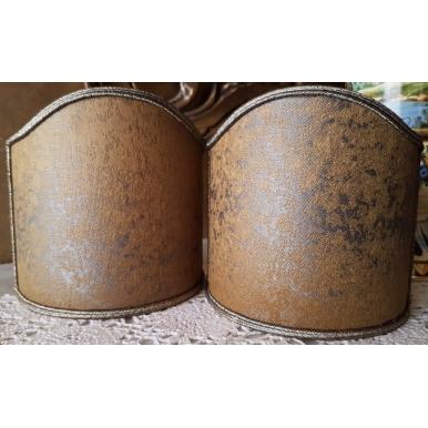 Ventolina per Applique in Tessuto Jacquard Rubelli Lacca Giallo Ossido
