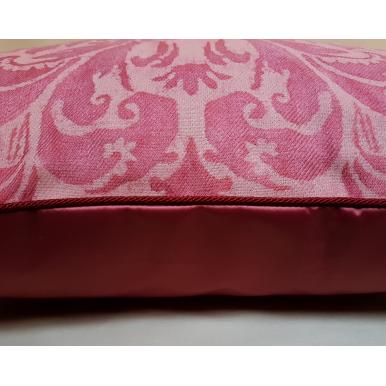 Fodera per Cuscino in Tessuto Fortuny Sevres Rosso