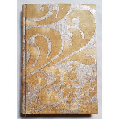 Carnet de Notes Couverture Tissu Fortuny Caravaggio Or