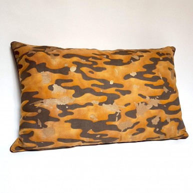 Decorative Pillow Case Fortuny Fabric Camo Isole Pattern Tiger Texture