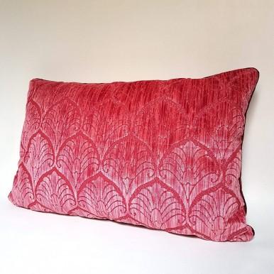 Decorative Pillow Case Luigi Bevilacqua Velvet Hibiscus Palmyra Pattern