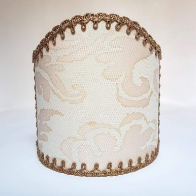 Wall Sconce Clip-On Lampshade Fortuny Fabric No Color Sevigne Pattern